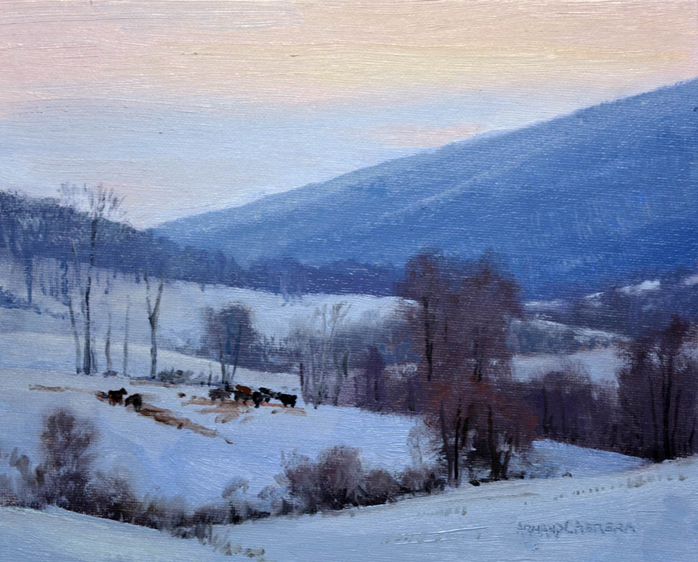 Hills at Twilight - SOLD!