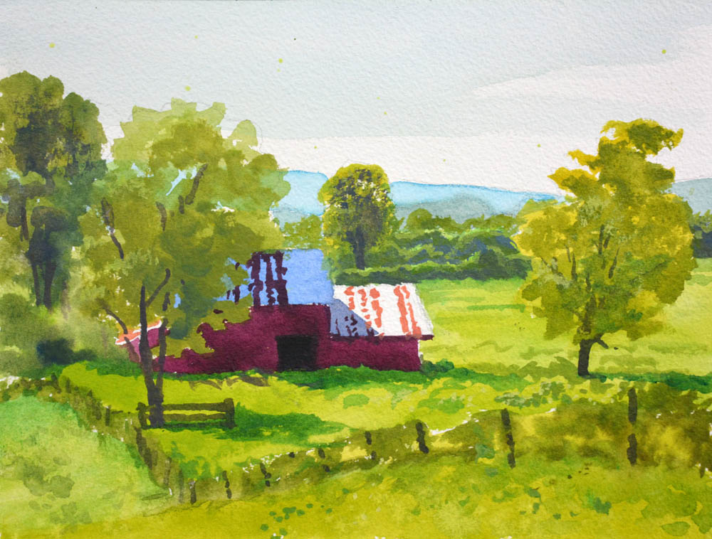 The Red Barn - SOLD!