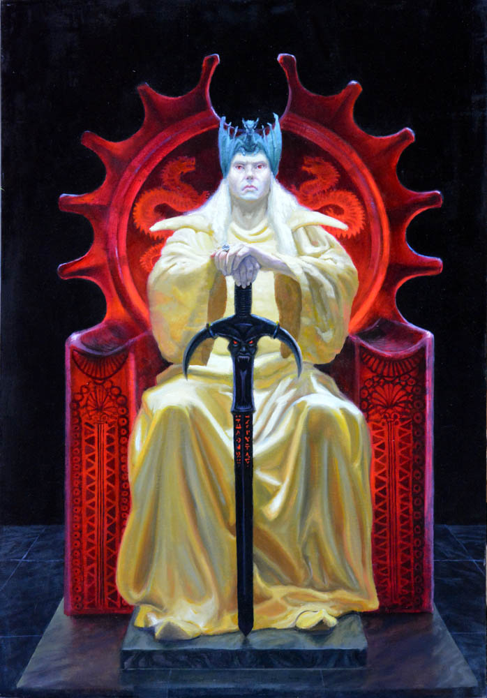 Elric on the Ruby Throne