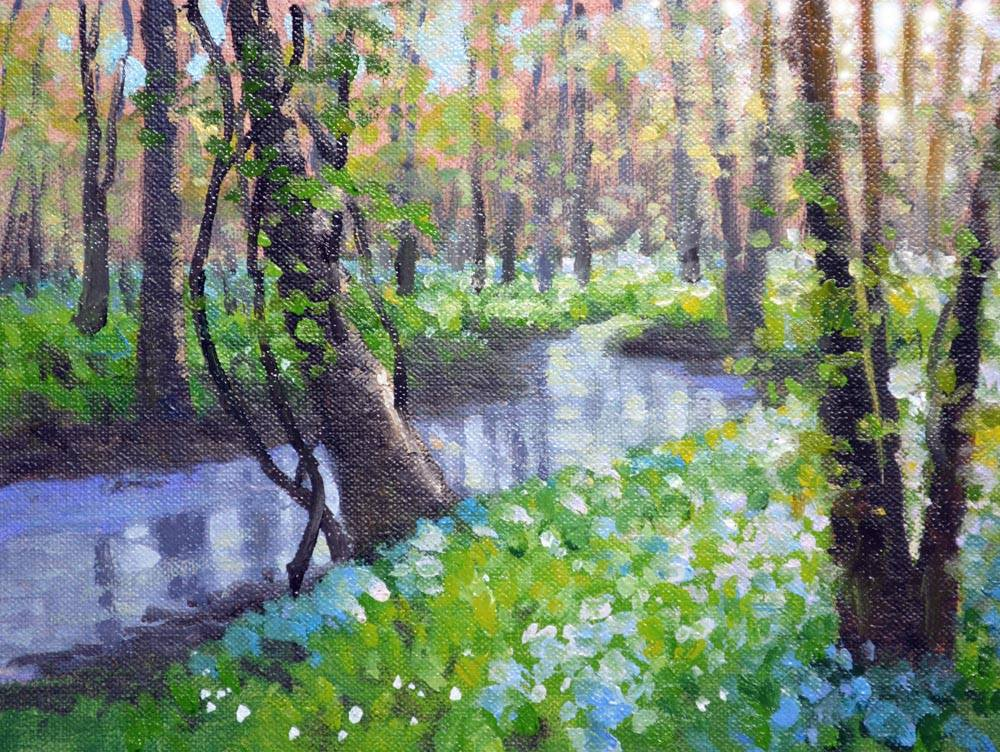 Riverside Bluebells