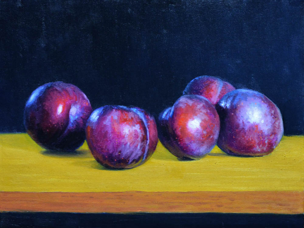 Five Plums - SOLD