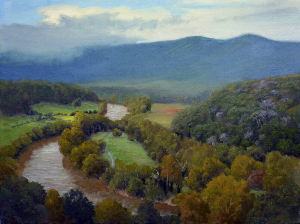 Shenandoah River Valley Overlooki
