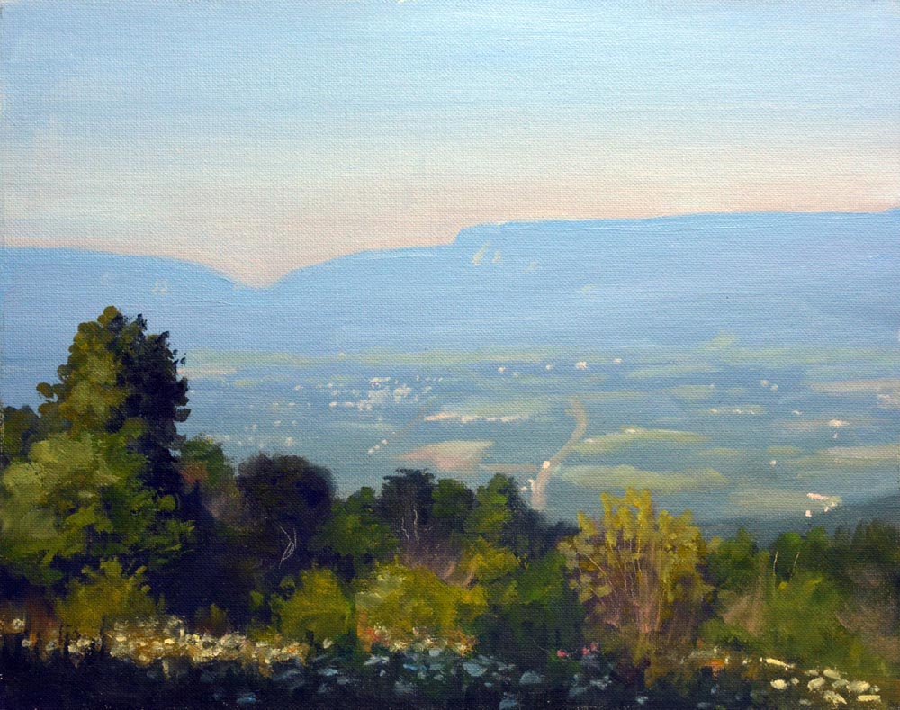 Pass Mountain Overlook Summer